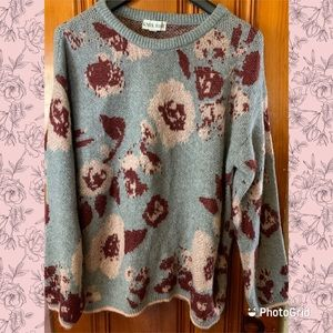 Knox Rose Sweaters - Knox Rose Floral Sweater